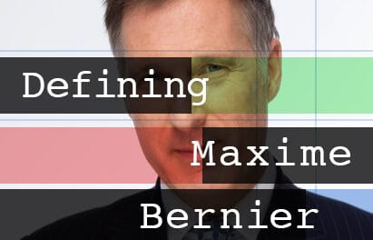 Blackballed: Defining Maxime Bernier