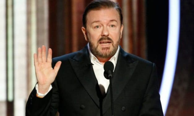 If free speech were a movie, Ricky Gervais is the theme music